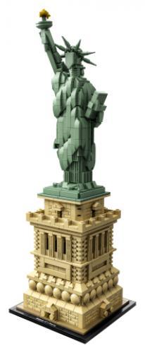LEGO® Architecture Statuia Libertatii - Jucarii copilasi - Jucarii de constructie