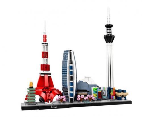 LEGO® Architecture Tokyo - Jucarii copilasi - Jucarii de constructie