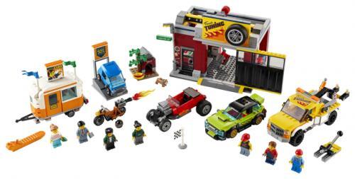 LEGO® City Atelier de tuning - Jucarii copilasi - Jucarii de constructie