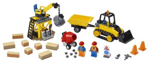LEGO® City Buldozer pentru constructii - Jucarii copilasi - Jucarii de constructie