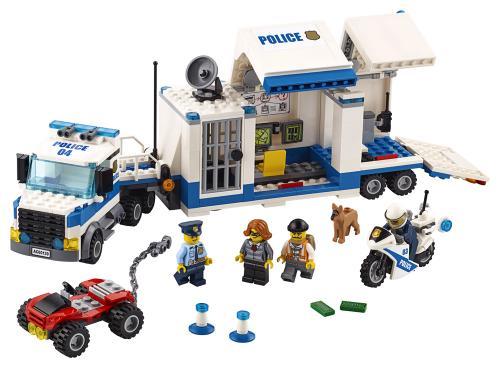 LEGO® City Centru de comanda mobil - Jucarii copilasi - Jucarii de constructie