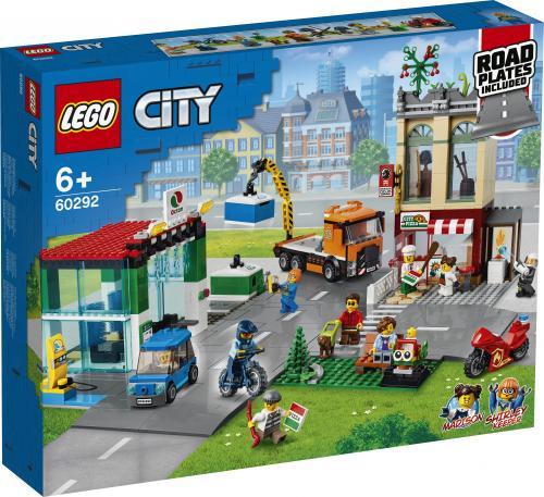 LEGO City Centrul orasului - Jucarii copilasi - Jucarii de constructie