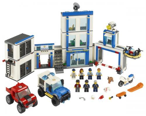 LEGO® City Sectie de politie - Jucarii copilasi - Jucarii de constructie