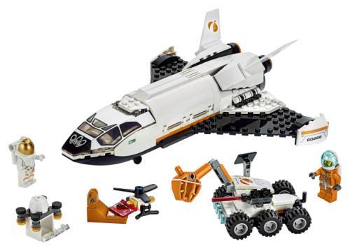LEGO® City Space Port Naveta de cercetare a planetei Marte - Jucarii copilasi - Jucarii de constructie
