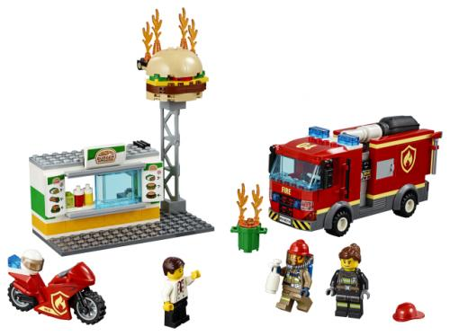 LEGO® City Stingerea incendiului de la Burger Bar - Jucarii copilasi - Jucarii de constructie