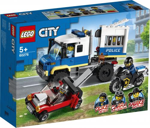 LEGO City Transportul prizonierilor politiei - Jucarii copilasi - Jucarii de constructie