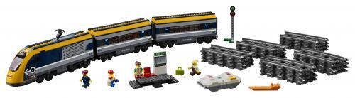 LEGO® City Tren de calatori - Jucarii copilasi - Jucarii de constructie