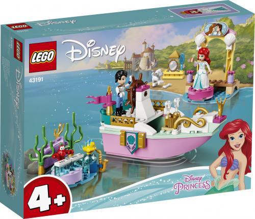 LEGO Disney Princess Barca de festivitati a lui Ariel - Jucarii copilasi - Jucarii de constructie