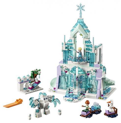 LEGO® Disney Princess Elsa si Palatul ei magic de gheata - Jucarii copilasi - Jucarii de constructie