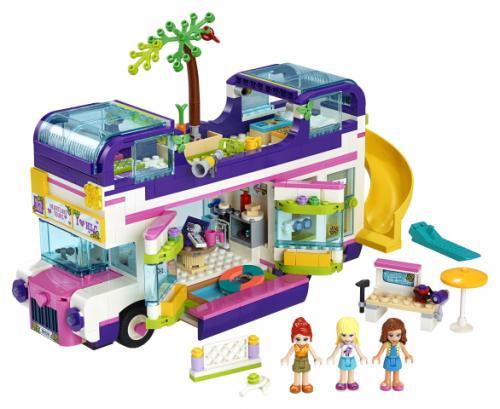 LEGO® Friends Autobuzul prieteniei - Jucarii copilasi - Jucarii de constructie