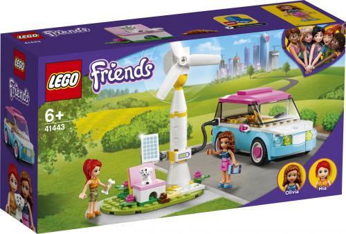 LEGO Friends Masina electrica a Oliviei - Jucarii copilasi - Jucarii de constructie