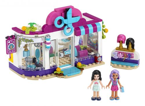 LEGO® Friends Salonul de coafura din orasul Heartlake - Jucarii copilasi - Jucarii de constructie