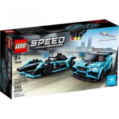 LEGO® Speed Champions Formula E Panasonic Jaguar Racing GEN2 car & Jaguar I-PACE - Jucarii copilasi - Jucarii de constructie
