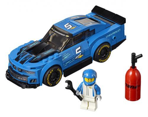 LEGO® Speed Champions Masina de curse Chevrolet Camaro ZL1 - Jucarii copilasi - Jucarii de constructie
