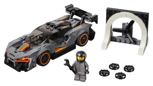 LEGO® Speed Champions McLaren Senna - Jucarii copilasi - Jucarii de constructie