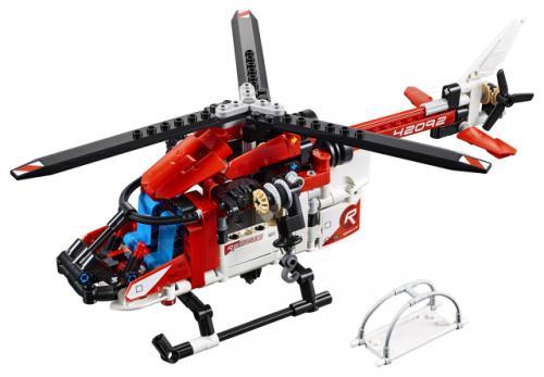 LEGO® Technic Elicopter de salvare - Jucarii copilasi - Jucarii de constructie