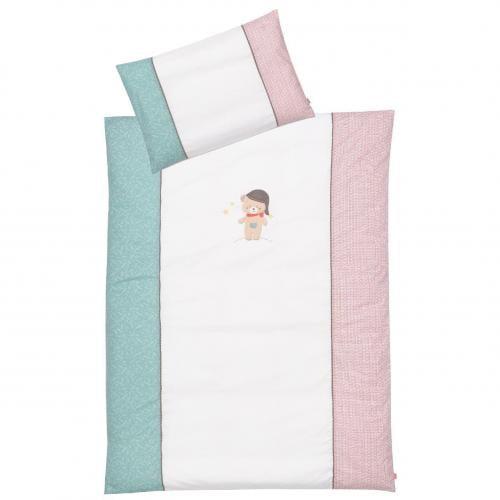 Lenjerie de pat copii - Ursuletul Bruno - Camera bebelusului - Lenjerii patut