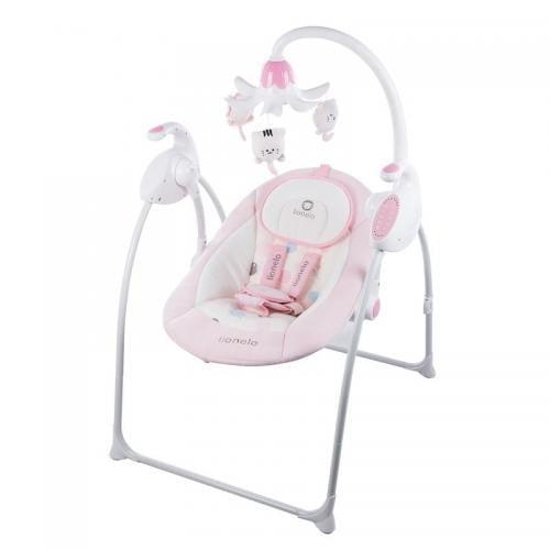 Lionelo Balansoar multifunctional Robin Pink - Camera bebelusului - Leagane si balansoare