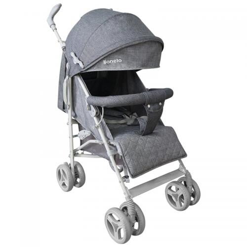 Lionelo - Carucior sport Irma - Grey/ Dark Grey - Carucior bebe - Carucioare sport