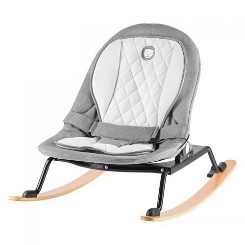 Lionelo - Fotoliu rotativ cu leganare - Rosa - Stone Grey/Black - Camera bebelusului - Leagane si balansoare