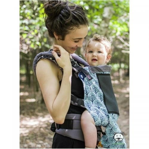 Luna Dream - Marsupiu ajustabil Grow Up Air - Forest Mint - Plimbare bebe - Marsupiu bebelusi