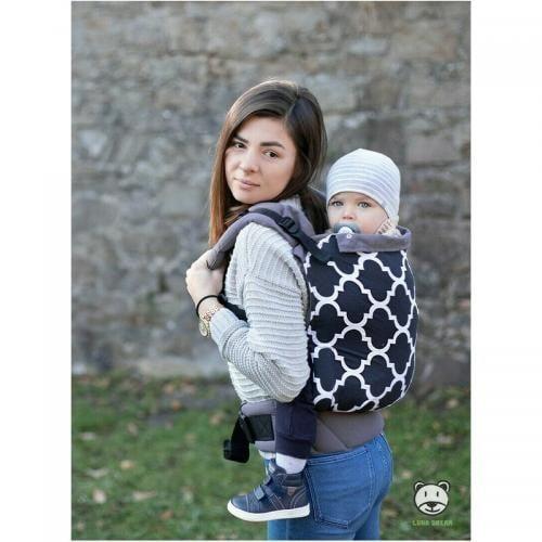 Luna Dream - Marsupiu ergonomic 2 in 1 - Mosaic - Plimbare bebe - Marsupiu bebelusi