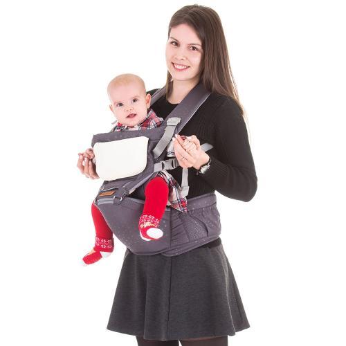 Marsupiu Chipolino Brisa graphite - Plimbare bebe - Marsupiu bebelusi