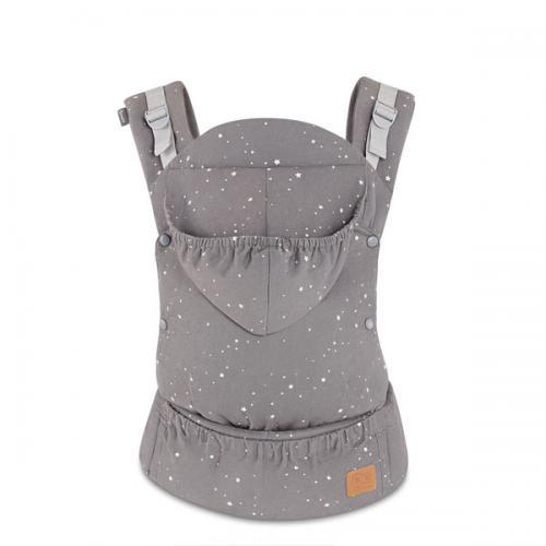 Marsupiu ergonomic HUGGY Stars - Plimbare bebe - Marsupiu bebelusi
