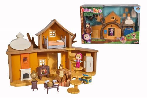 Masha casuta ursului cu 2 etaje - figurine si functiuni - Jucarii copilasi - Figurine pop