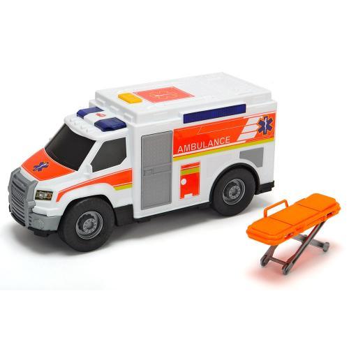 Masina ambulanta Dickie Toys Medical Responder cu accesorii - Jucarii copilasi - Avioane jucarie