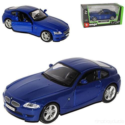 Masina BMW Z4 M Coupe - scara 1:32 - albastru - Jucarii copilasi - Avioane jucarie