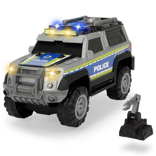 Masina de politie Dickie Toys Police SUV cu accesorii - Jucarii copilasi - Avioane jucarie