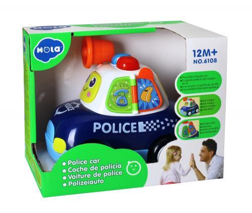 Masina de politie lumini si sunete - Jucarii bebelusi -