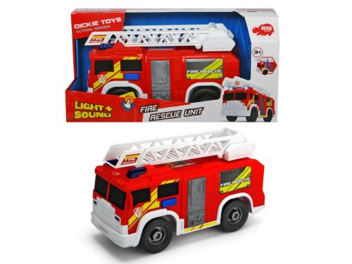 Masina de pompieri 30cm cu functiuni - Jucarii copilasi - Avioane jucarie