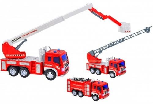Masina de pompieri pentru copii Globo cu sunete si lumini - Jucarii copilasi - Avioane jucarie