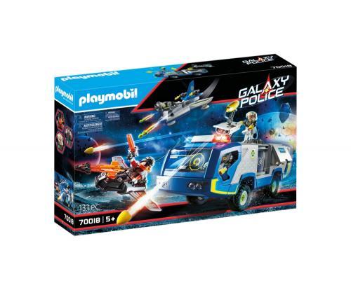 Masina De Teren A Politiei Galactice - Jucarii Playmobil -