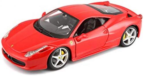 Masina Ferrari 458 Italia scara 1:43 - rosu - Jucarii copilasi - Avioane jucarie