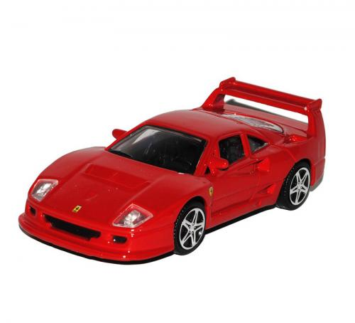 Masina Ferrari F40 Competizione scara 1:43 - rosu - Jucarii copilasi - Avioane jucarie