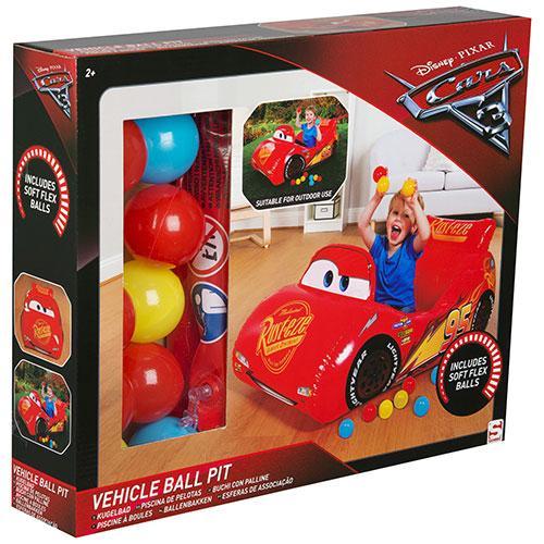 Masina Lightning McQueen gonflabila cu mingi - Jucarii copilasi - Jucarii gonflabile