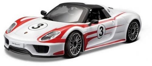 Masina Porsche 918 Spyder scara 1:24 - Jucarii copilasi - Avioane jucarie