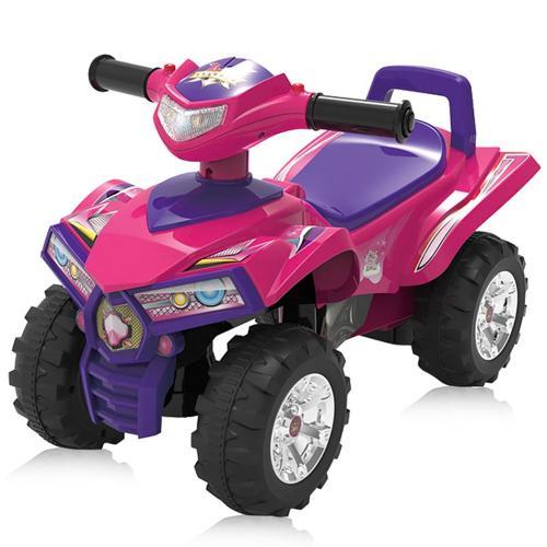 Masinuta Chipolino ATV pink - Plimbare bebe - Masinute fara pedale