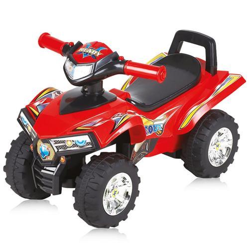 Masinuta Chipolino ATV red - Plimbare bebe - Masinute fara pedale