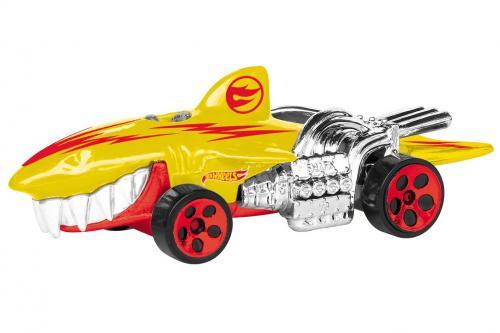 Masinuta cu lumini si sunete hot wheels - sharkruiser galben - Jucarii copilasi - Avioane jucarie