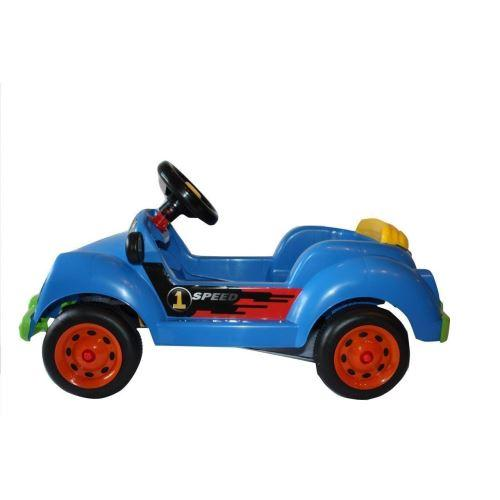 Masinuta cu pedale albastra - Plimbare bebe - Vehicule cu pedale