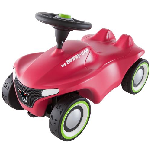 Masinuta de impins Big Bobby Car Neo pink - Plimbare bebe - Vehicule de impins