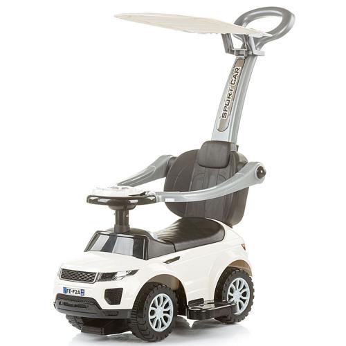 Masinuta de impins Chipolino RR Max white - Plimbare bebe - Vehicule de impins
