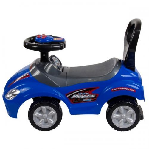 Masinuta de impins sun baby mega car - blue - Plimbare bebe - Vehicule de impins
