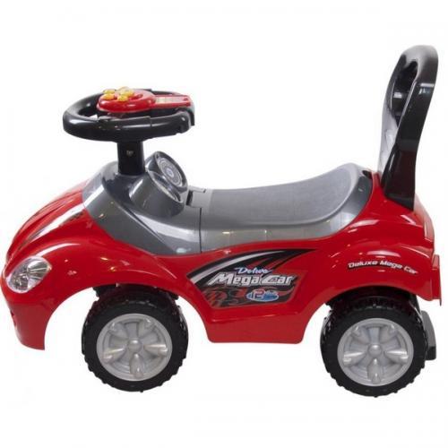 Masinuta de impins sun baby mega car - red - Plimbare bebe - Vehicule de impins