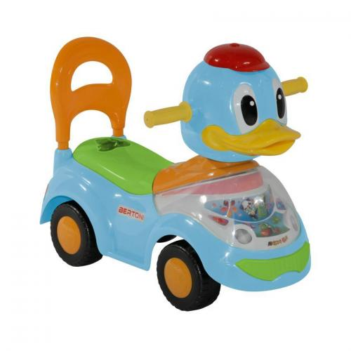 Masinuta duck - blue - Plimbare bebe - Masinute fara pedale