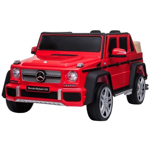 Masinuta electrica Chipolino SUV Mercedes Maybach G650 red - Plimbare bebe - Masinuta electrica